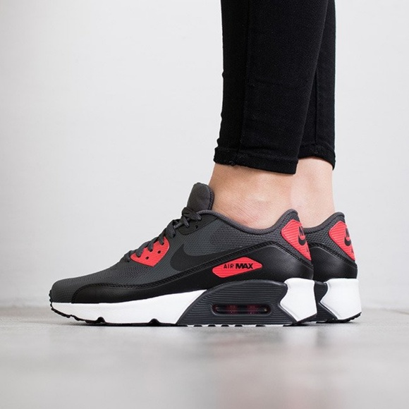 Nike Air Max 90 Ultra 2.0 GS Black Pink W AUTHENTI NWT